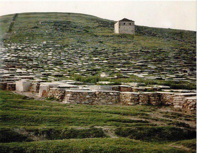 Еврејски гробишта Битола 1912 г