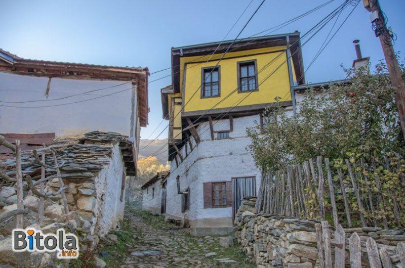 Malovishta village, Bitola Municipality, Macedonia - traditional architecture