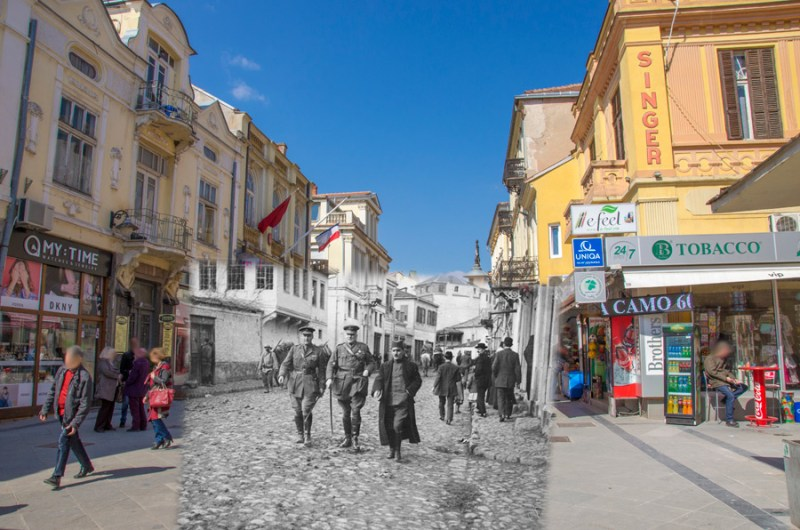 Read more about the article Prince Aleksandar I Karađorđević and admiral Ernest Charles Thomas Troubridge in Bitola – 21 November 1916 – Bitola then and now