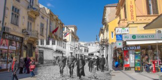Prince Aleksandar I Karađorđević and admiral Ernest Charles Thomas Troubridge in Bitola - 21 November 1916 - Bitola then and now