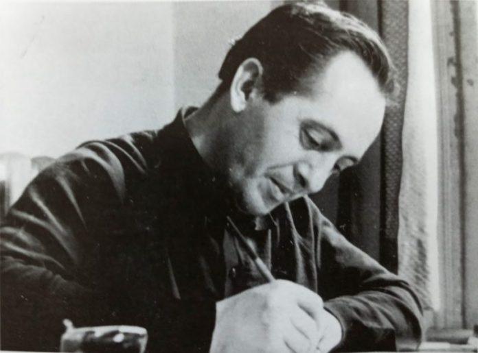 Ајри Демировски во деновите кога го изучуваше графичкиот занает во Загреб
