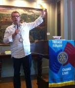 Westport President Tony Riggio