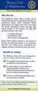 Middletown Rotary - Who we are