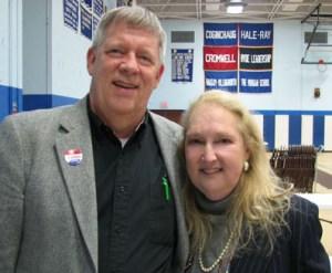 Alan Hurst and Gail Hamm