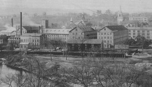 Goodyear Metallic Rubber Shoe Company, Naugatuck, ca. 1900 (Source: http://connecticuthistory.org)