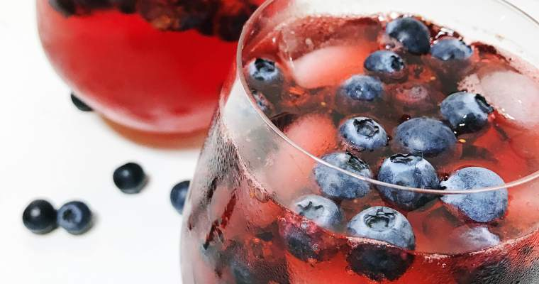 Cherry Berry Cocktails
