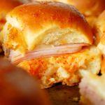 ham sliders- 2 ways