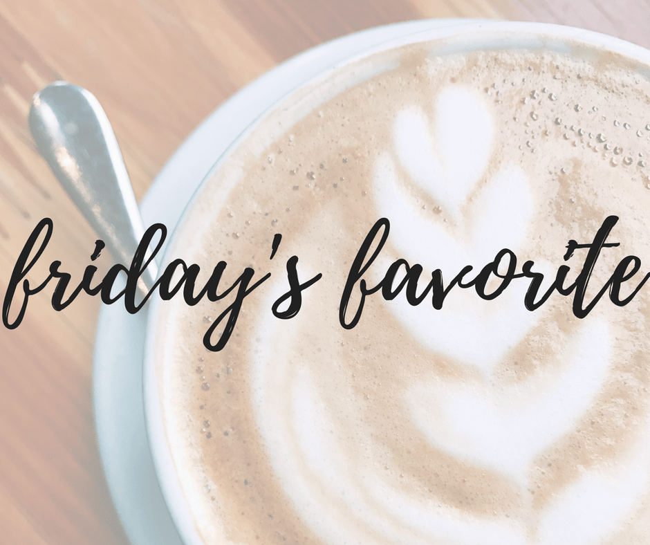 friday's favorite bits + bites