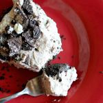 Cookies 'n Irish Cream No Bake Cheesecake