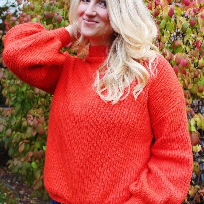 Statement Sleeve Sweaters