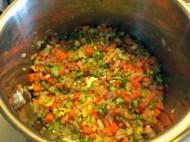 So easy...saute some veggies.