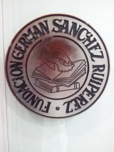 emblem of La Fundacion German Sanchez Ruiperez