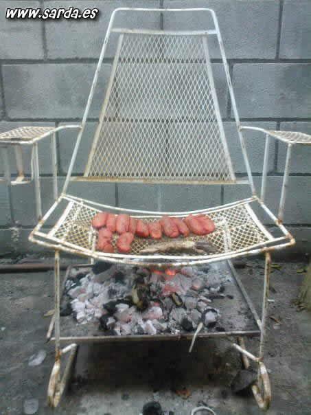 BBQ chair