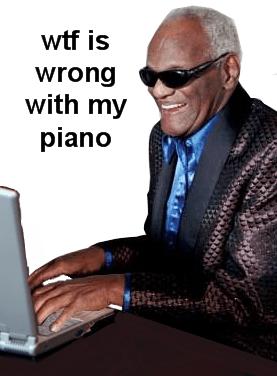 Ray's piano