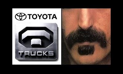 Toyota trucks mustache