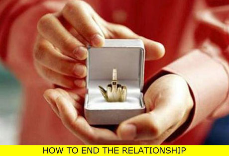 End the relationship