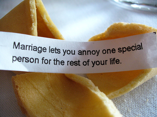 Marriage annoy