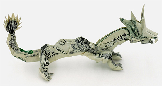 Money dragon