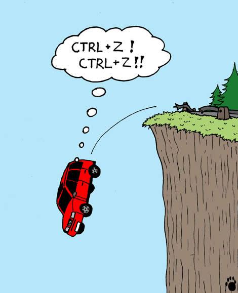 Ctrl + Z