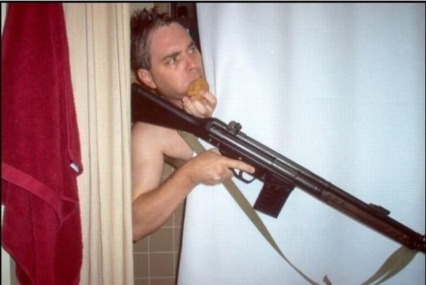 Shower gun