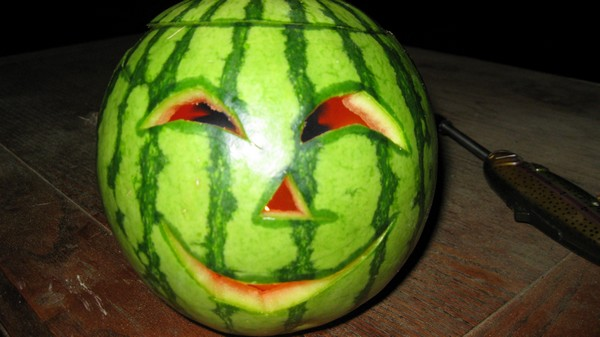 Jack-o-melon