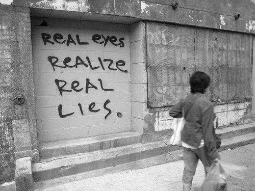 Real eyes