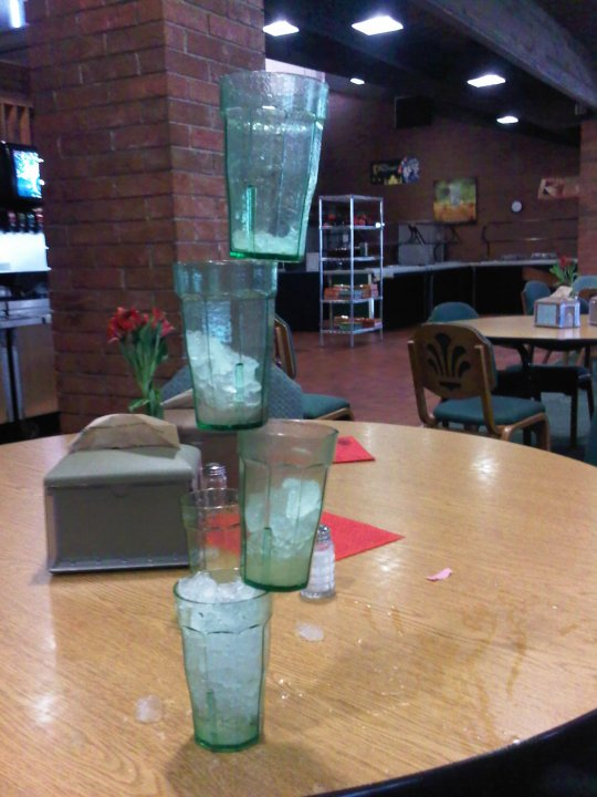 Stacking glasses