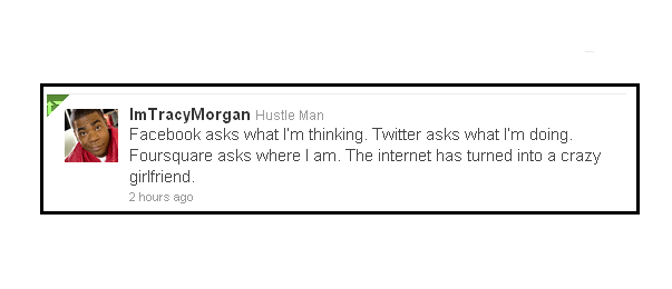 Tracy morgan on the internet
