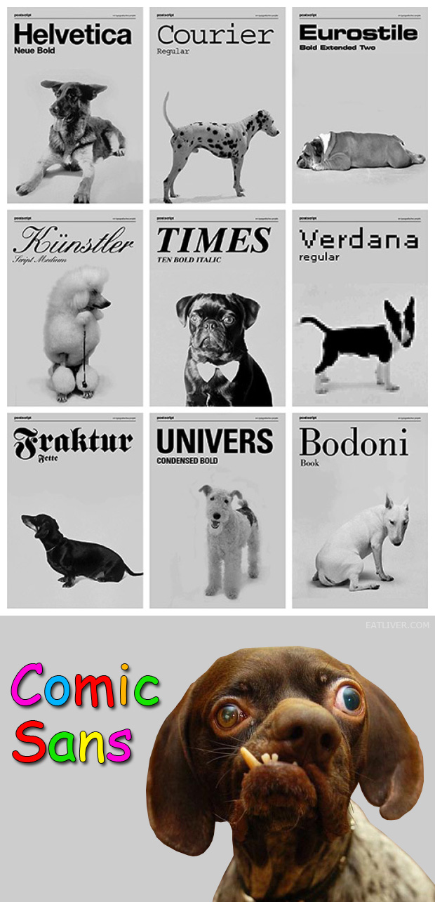 What font is your dog