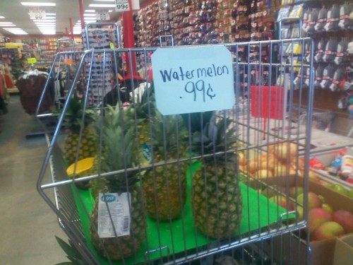 Watermelon sale