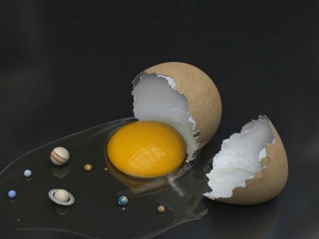 Planetary egg
