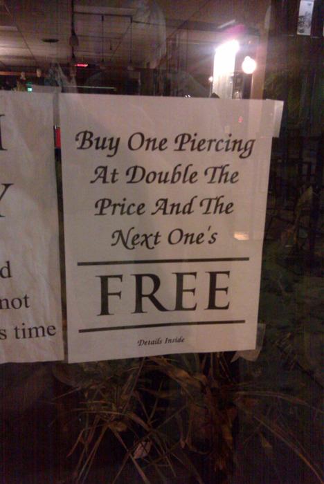 Double the price
