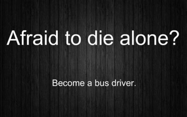 Afraid to die alone