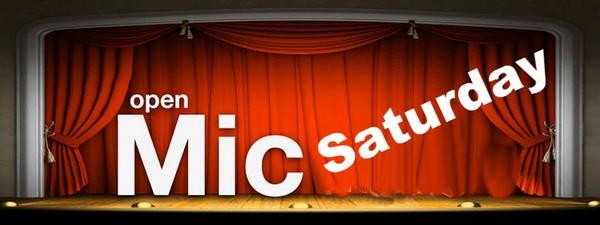Open Mic Saturday