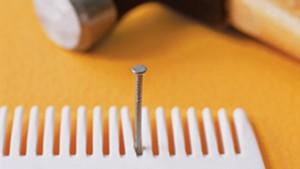Comb nail