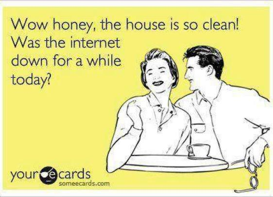 House is clean