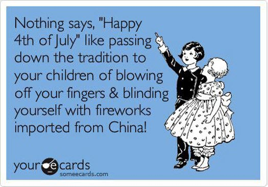 Nothing says 4th of july