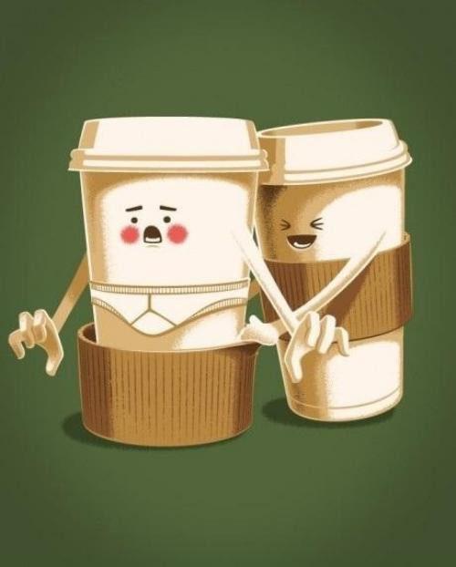 Coffee prank