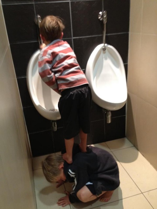 Urinal booster