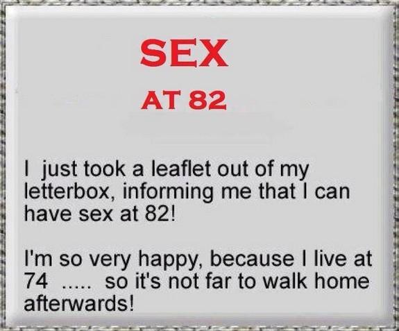 Sex at 82