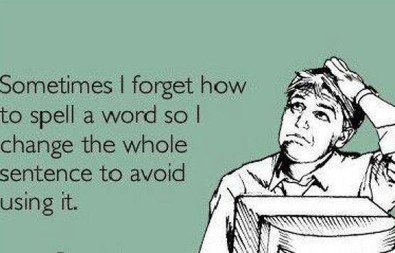 Spelling troubles