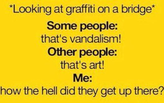 On graffitti