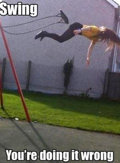 Swinging oops