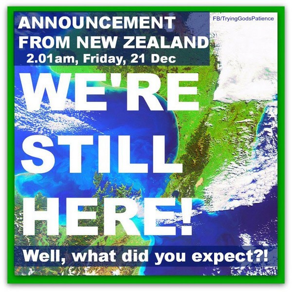 Announcement from new zealand2