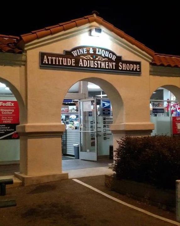 Attitude adjustment shop