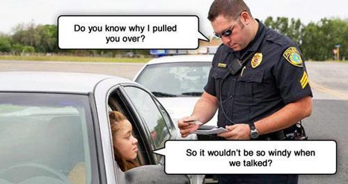 Why i pulled u over