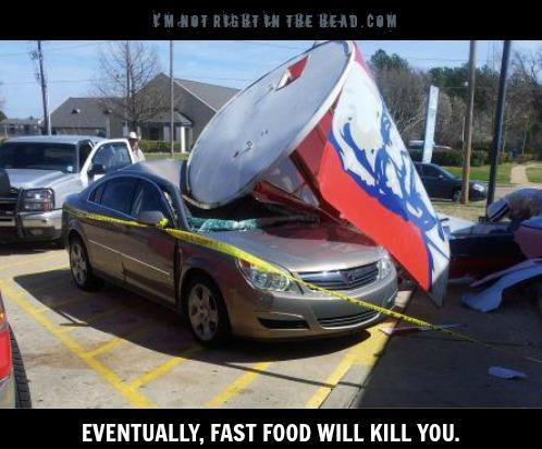 Fast food kills