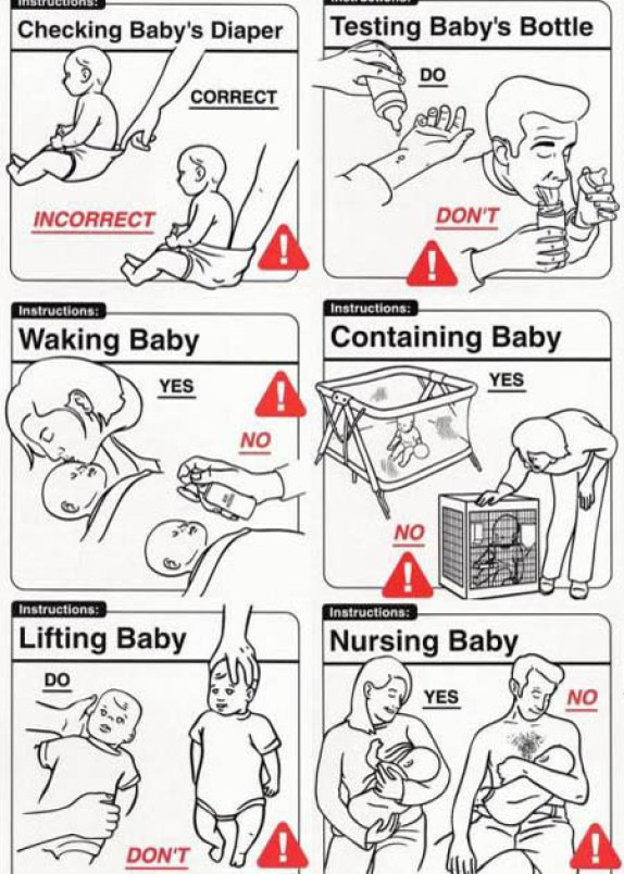 Baby instructions