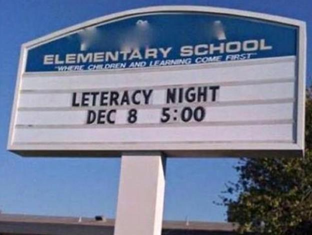 Leteracy night