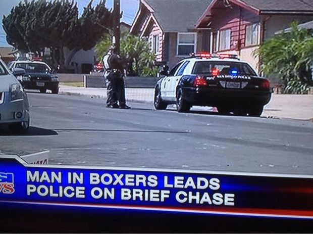 Brief chase